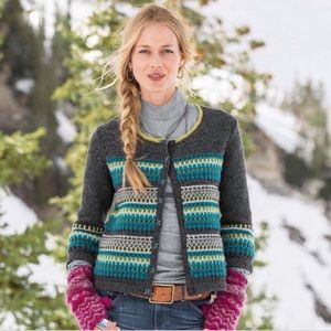 Sundance Katrina Cardigan Sweater M